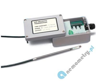 anemometry-stacjonarne Przetworniki prędkości i przepływu powietrza