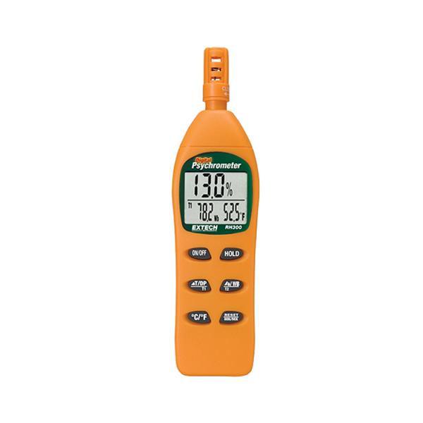 IBE-RH300 Cyfrowy wilgotnościomierz z termometrem IR