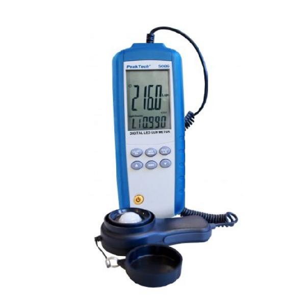 IBP-5086_karta-katalogowa_iB_PL Cyfrowy wilgotnościomierz z termometrem IR
