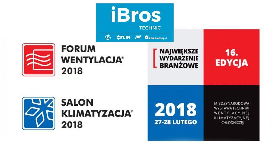 iBros technic na Targach Forum Wentylacja – Salon Klimatyzacja 2018