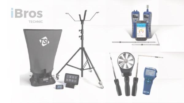 Pomiary, badanie i regulacja instalacji hvac – urządzenia pomiarowe do wentylacji/klimatyzacji