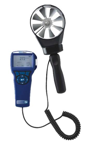 anemometr-skrzydełkowy-VelociCalc-5725 Pomiary, badanie i regulacja instalacji hvac – urządzenia pomiarowe do wentylacji/klimatyzacji