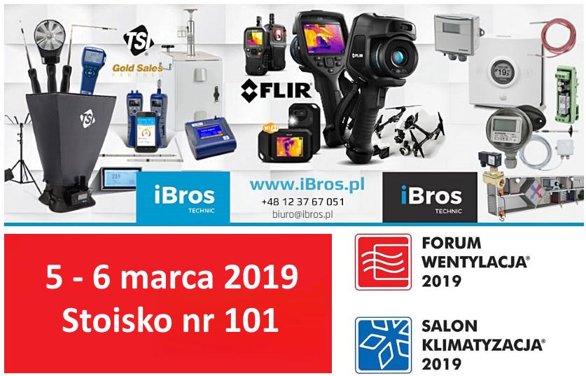 iBros technic na Targach Forum Wentylacja – Salon Klimatyzacja 2019