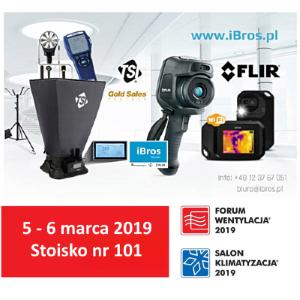iBros-FW2019 iBros technic na Targach Forum Wentylacja - Salon Klimatyzacja 2019