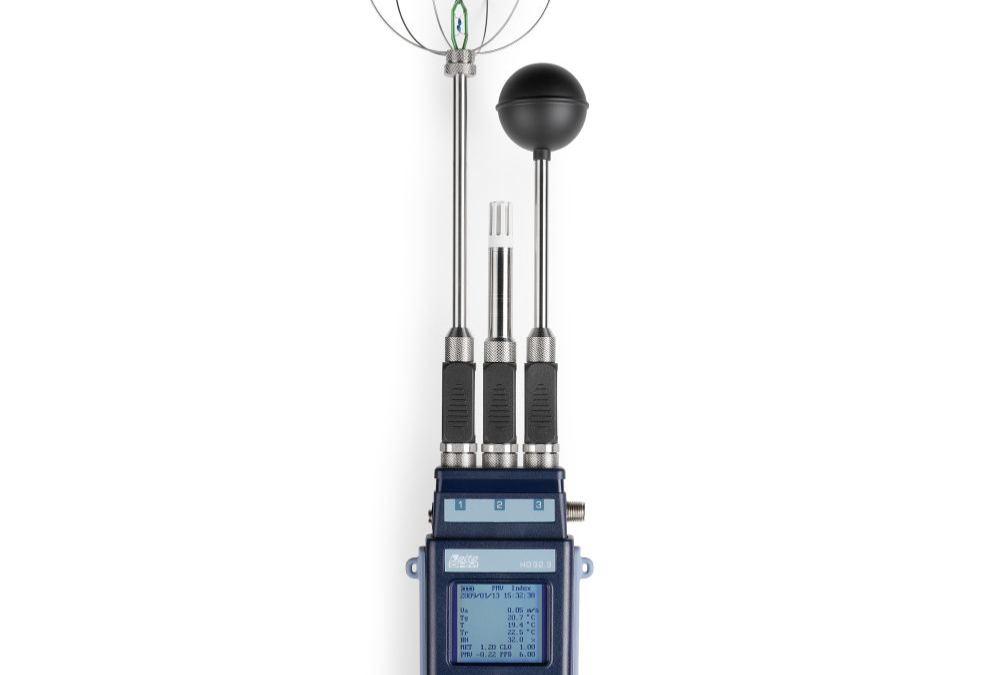 IBO-HD32.3-KIT  Zestaw do pomiaru i analizy współczynników: WBGT – PMV – PPD