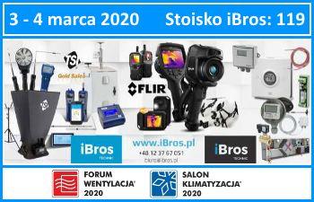FW2020 iBros technic na Targach Forum Wentylacja - Salon Klimatyzacja 2020